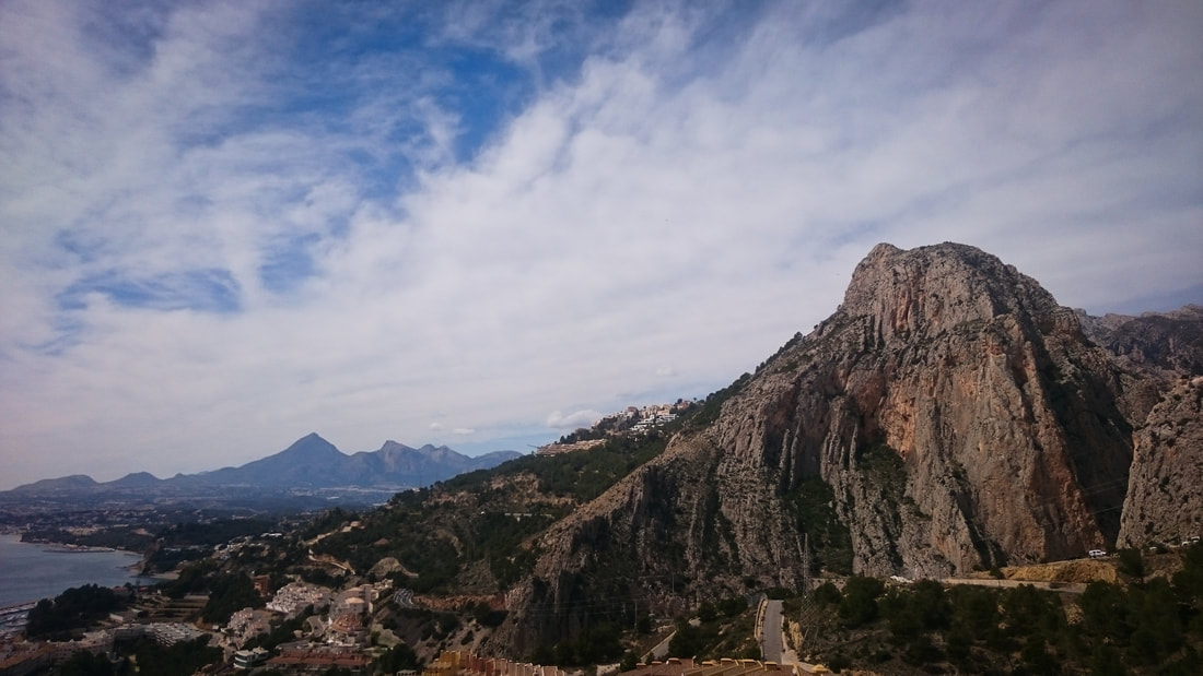 Amazing Costa Blanca views from Sierra de Toix