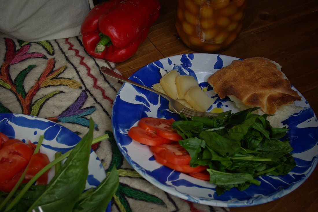Lunch courtesy of the local produce from Albarracin