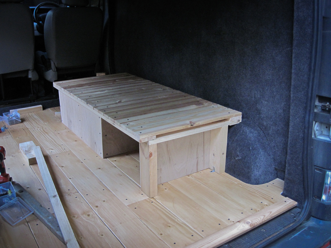 Bed and storage box